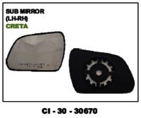 Sub Mirror Creta L/R