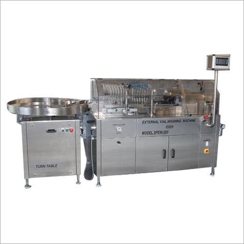 SS External Vial Washing Machine
