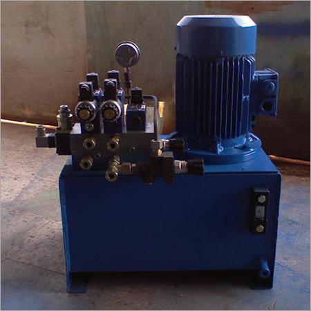 Semi- Automatic Hydraulic Power Pack