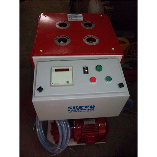 Electric Hydraulic Oil Filtration Unit