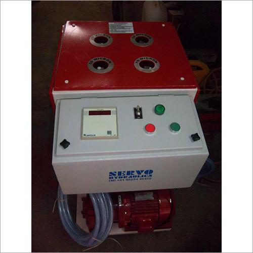 Electric Hydraulic Oil Filtration Unit