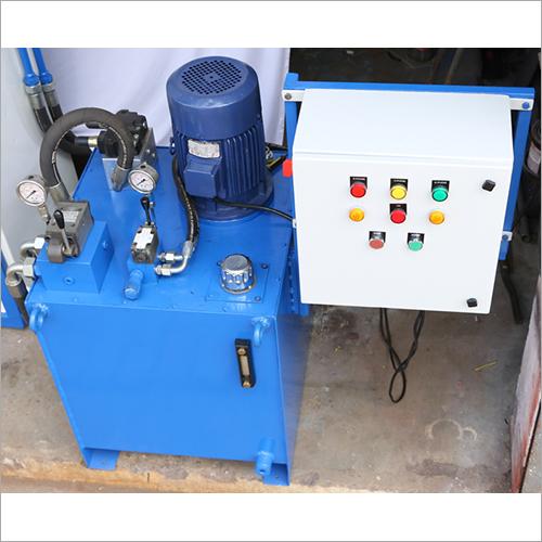 Electric Waste Baler Press