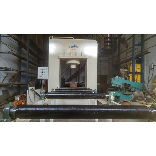 Hydraulic Profile Straightening Press