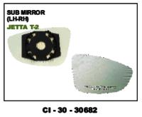 Sub Mirror Jetta  T-2  L/R