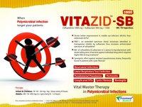 Ceftazidime 1000 mg & Sulbactam 500 mg