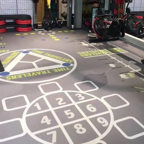 Cross Fit Gym flooring/Sound Reducing Gym Floors‎