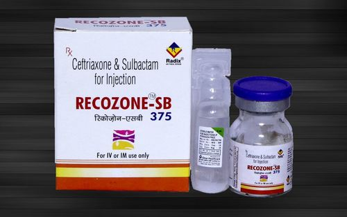 Ceftriaxone 250 Mg & Sulbactam 125 Mg