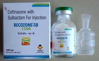 Ceftriaxone 1000 mg & Sulbactam 500 mg Injections