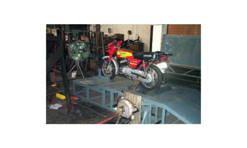 TWO WHEELER ENGINE TEST RIG