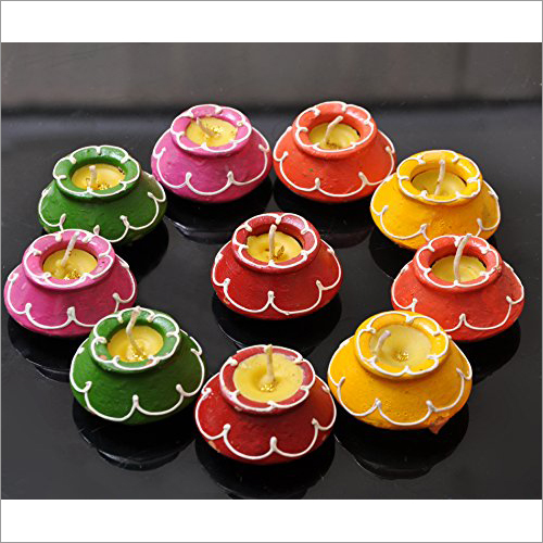 Decorative Diwali Candles