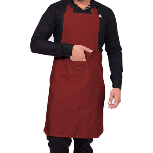 Maroon Chef Apron