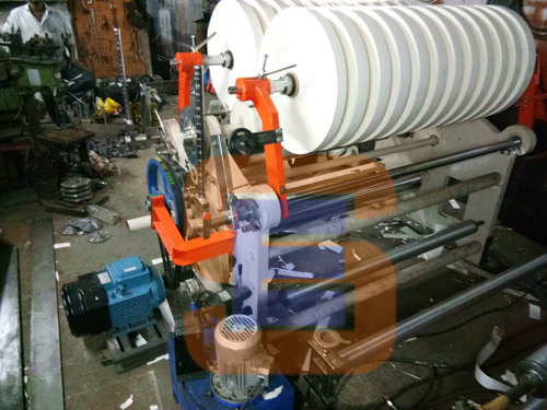 Paper Cup Bottom Slitter Rewinder Machine