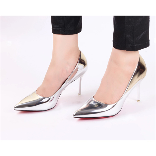 Desire Silver Pumps High Heel