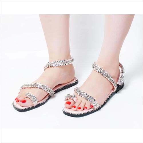 Epic Pink Slip On Flat Sandals