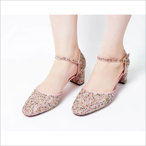Cinderella Pink Pumps Low Heel