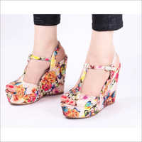 Admire Printed Wedge