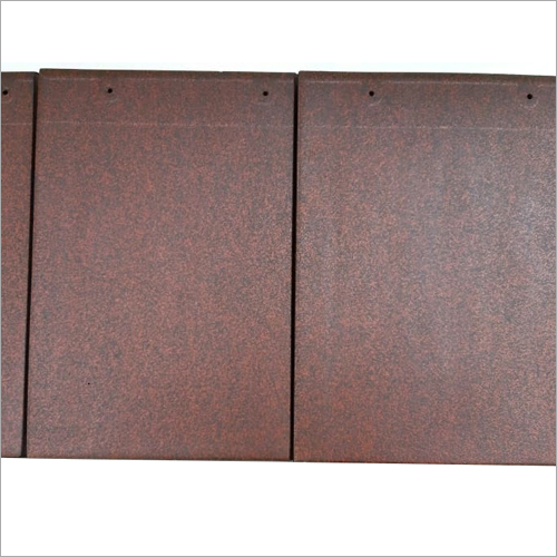 Antique Red Ceramic Flat Roof Tile