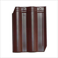Coffee Brown Ceramic Roof Tile