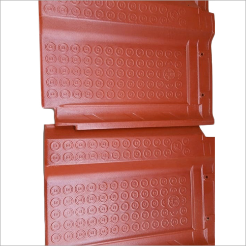 Single Wave Ceramic Roof Tiles