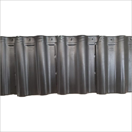 Steel Grey Ceramic Roof Tile