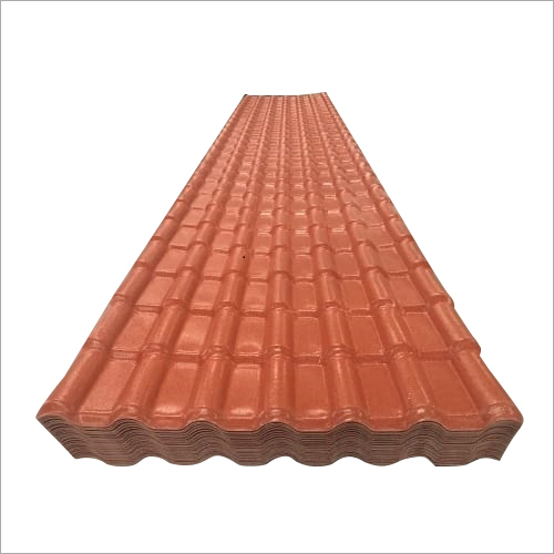 ASA Synthetic Resin Spanish Design Roofing Sheet