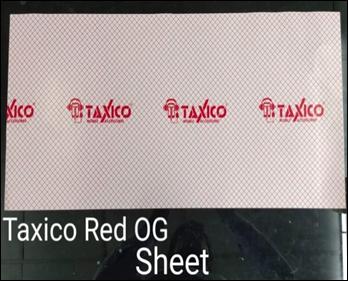 TX- RED OG SHEET