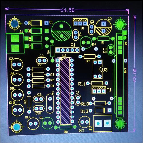 Single Side PCB Design Service