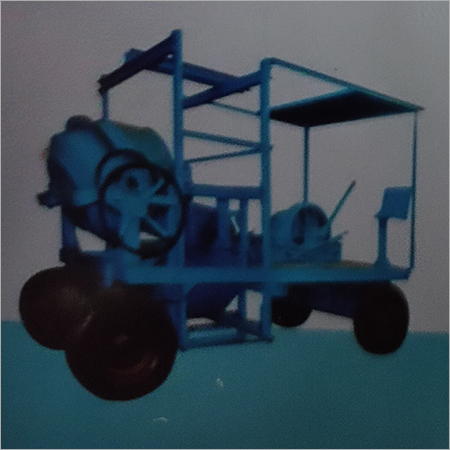 Concrete Mixer Mobile Hoist 4 Legs