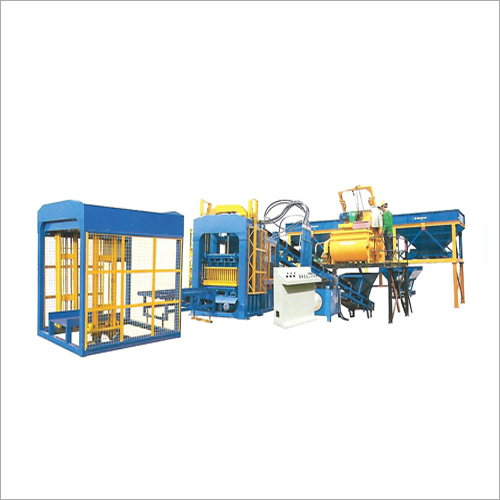 QT6-15 Automatic Block Machine Line