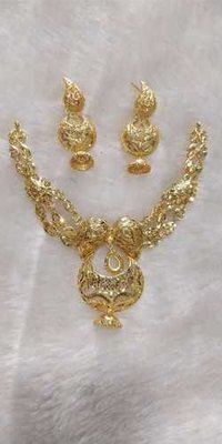 necklace sets silver &gold