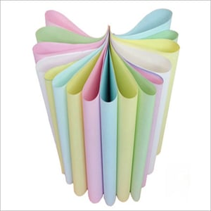 Colored Carbonless Paper