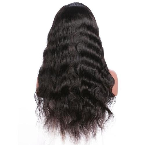 Full Lace Wavy Natural Black