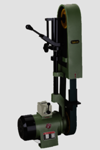 Rajlaxmi Single Side Abrasive Belt Grinder