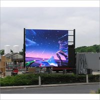 LED Advertising Display Outdoor Stadium Screen Video