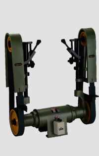 Rajlaxmi Double Side Abrasive Belt Grinder