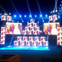 P3.91 Full Color LED Screen for Wedding Stage Decoration