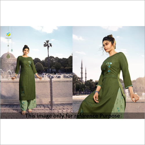 Ladies Party Wear Cotton Kurti