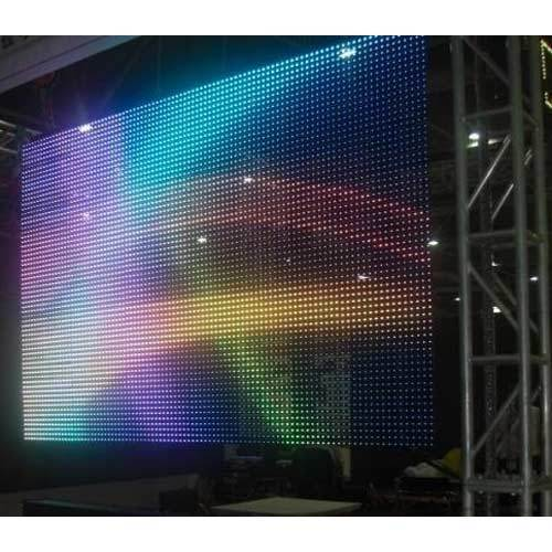 led wall for wedding reception