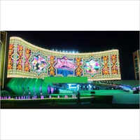 Led display for concert