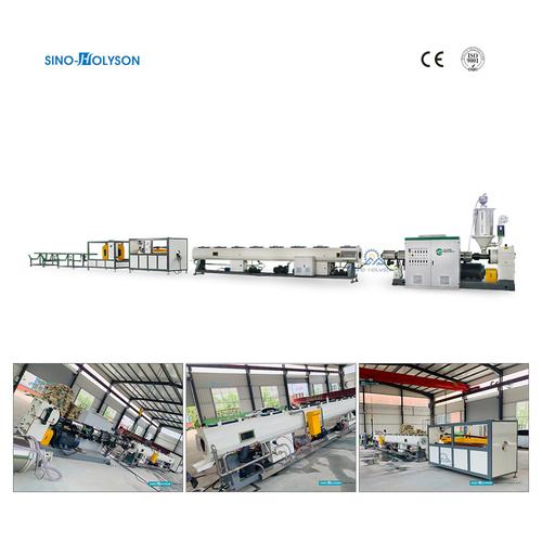 HSJ-120 HDPE Water Supply Pipe Making Machine