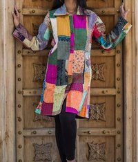 Patchwork Silk Jacket