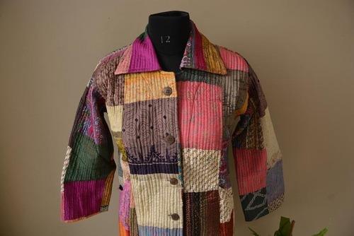Women Patchwork Jacket