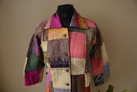 Women Patchwork Jacket