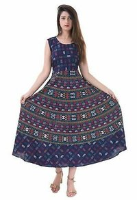 Jaipur Print Cotton Maxi Dress