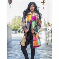 Ladies Patchwork Quilted Jacket