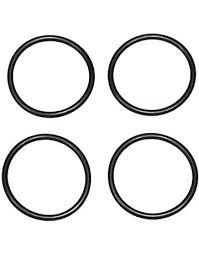 Oil-Resistant Hard Buna-N O-Rings for Tube Fittings withStraight-ThreadConnection