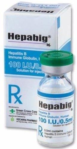 HEPABIG 100 IU INJECTION