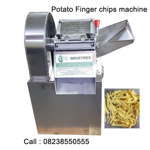 potato finger chips machine