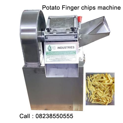 potato finger chips machine