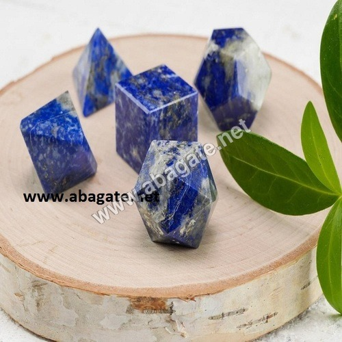 Lapis Lazuli Geometric Set